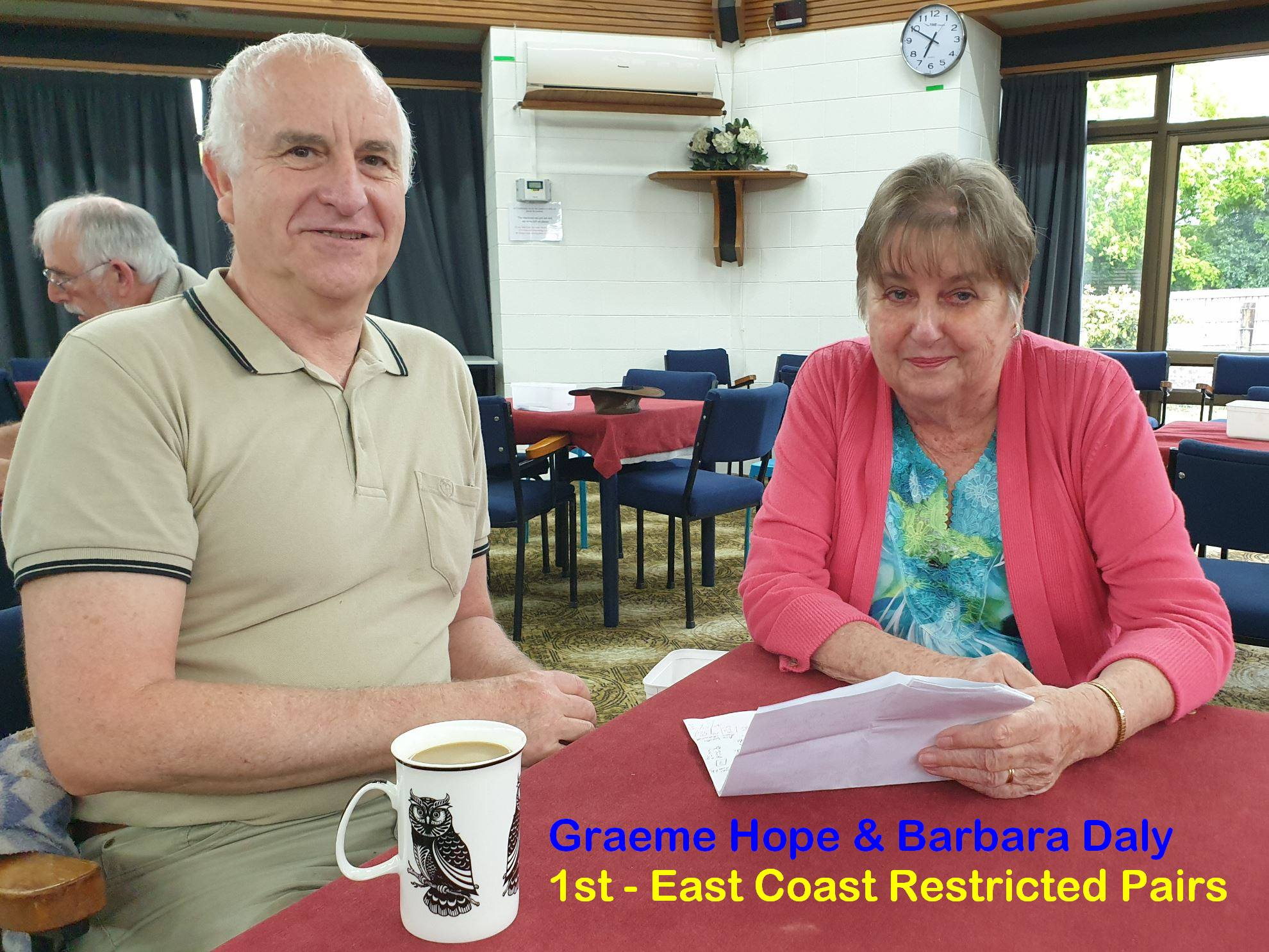 1st East Coast Bays Restricted Pairs Tournament