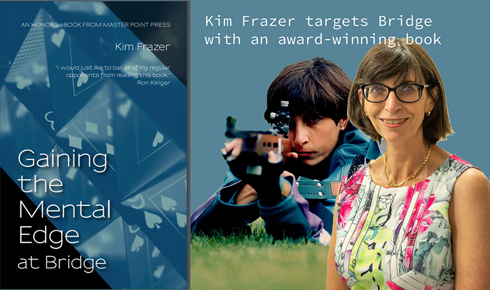 Kim Frazer and her book of the year